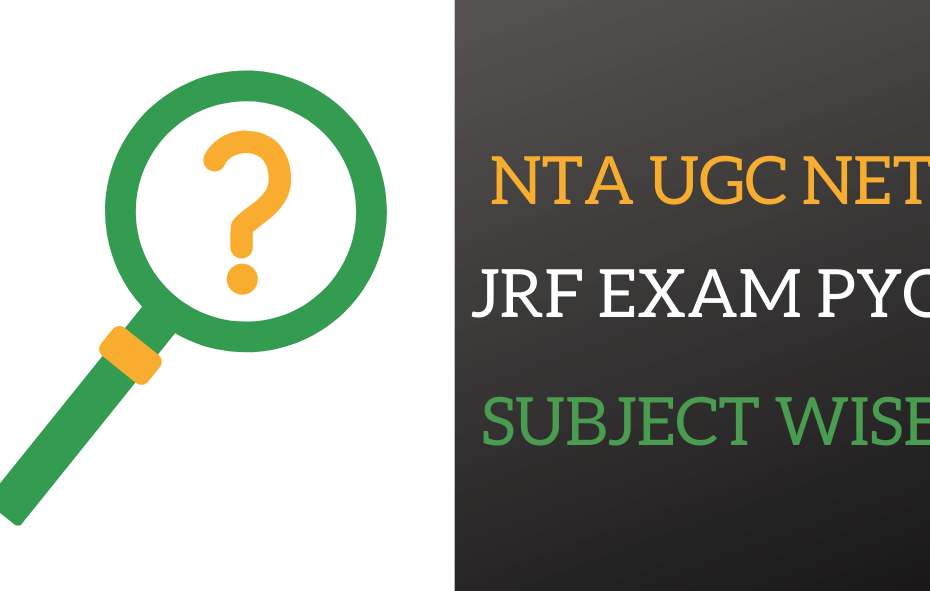 NTA UGC NET PREVIOUS YEAR QUESTION SUBJECT WISE