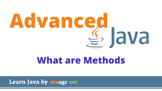 what are methods