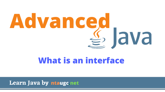 what is interface