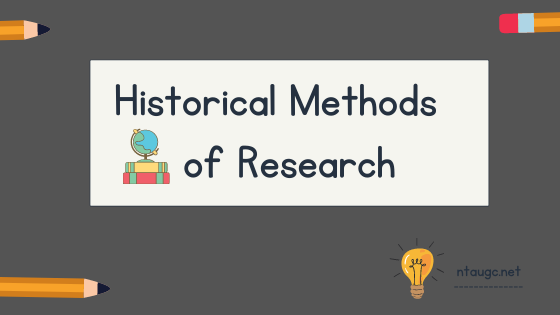 Historical Method, Research, Methodology, and Historiography